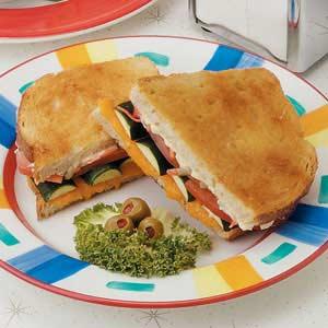 Sourdough Veggie Sandwiches Recipe