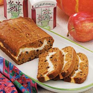 Ribbon Pumpkin Bread Recipe