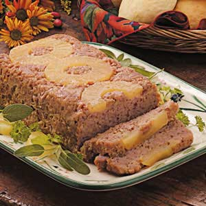 Ham Loaf with Pineapple Recipe