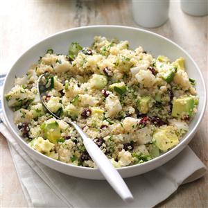 Lemon Cranberry Quinoa Salad Recipe