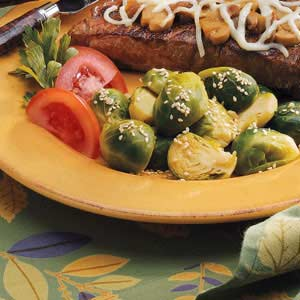 Sesame Brussels Sprouts Recipe