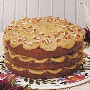 Layered Pecan Torte Recipe