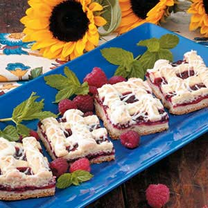 Frosted Raspberry Bars Recipe