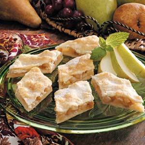Sugared Raisin Pear Diamonds Recipe
