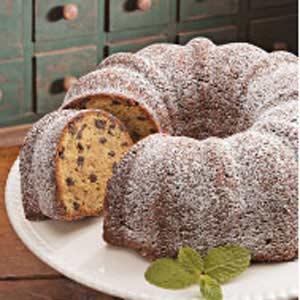 Vanilla Chocolate Chip Cake Recipe