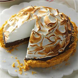 Chocolate S'mores Tart Recipe