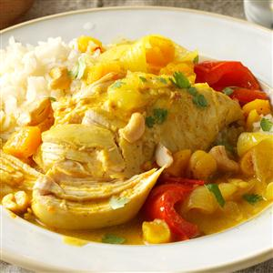 Slow Cooker Curry Chicken Recipe