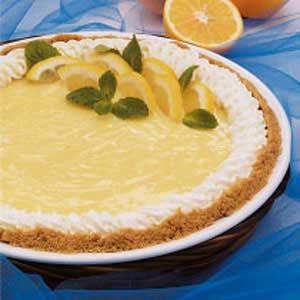 Sugartime Lemon Pie Recipe