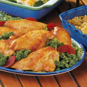 Marinated Baked Chicken Recipe Taste Of Home