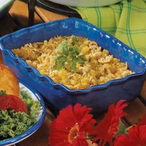 Mushroom Oven Rice Recipe