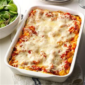 Butternut & Portobello Lasagna Recipe