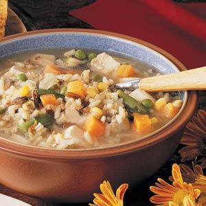Turkey Rice Soup Recipe