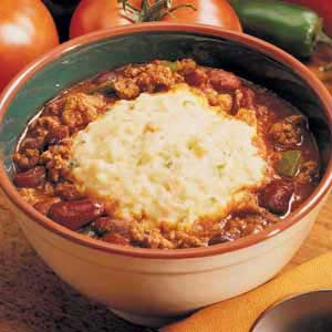 Chili with Potato Dumplings Recipe
