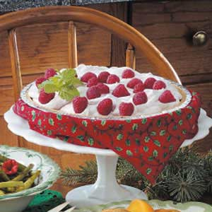 Raspberry Yogurt Pie Recipe