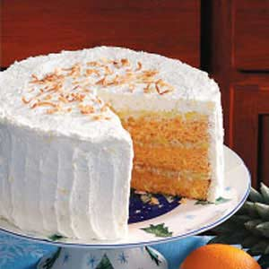 Hawaiian Sunset Cake Recipe