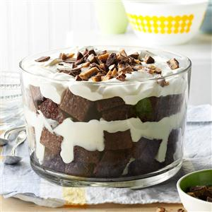 Toffee Brownie Trifle Recipe