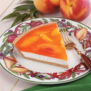 Peachy Cream Pie