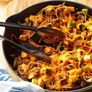 Southwestern Spaghetti Recipe