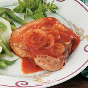 Pork Chops in Tomato Sauce Recipe