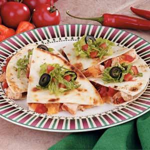 Baked Chicken Quesadillas Recipe