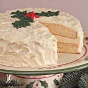 Contest-Winning Eggnog Cake Recipe
