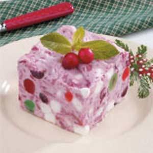 Cranberry Velvet Freeze Recipe