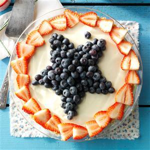 Star-Spangled Lemon Icebox Pie Recipe