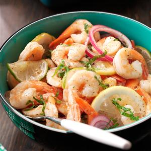 Pickled Shrimp with Basil Recipe