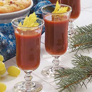 Spiced Tomato Drink Recipe