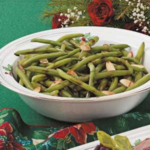 Tarragon-Almond Green Beans Recipe