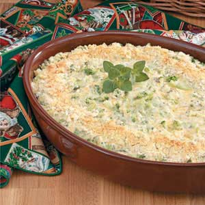 Makeover Creamy Broccoli Casserole Recipe