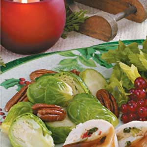 Brussels Sprouts with Pecans Recipe