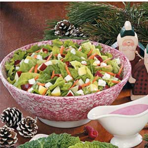 Fruit 'N' Feta Tossed Salad Recipe