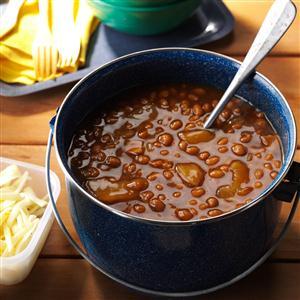 Root Beer Apple Baked Beans Recipe