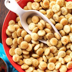 Pizza Oyster Crackers Recipe