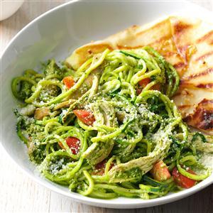 Arugula Pesto Chicken Recipe
