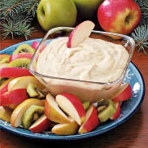 Tasty Creamy Fruit Dip