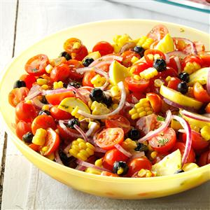 Summertime Tomato Salad Recipe