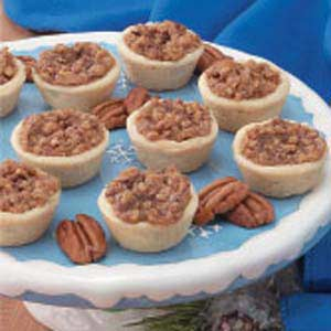 Pumpkin Pecan Tassies Recipe
