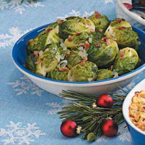 Braised Brussels Sprouts Recipe