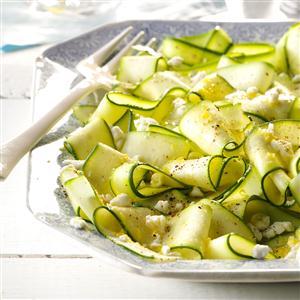 Lemony Zucchini Ribbons Recipe