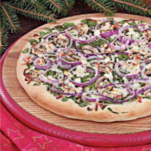 Spinach Feta Pizza Recipe