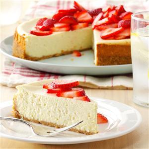 Light Cheesecake Recipe