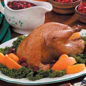 Pheasant with Cranberry Sauce Recipe
