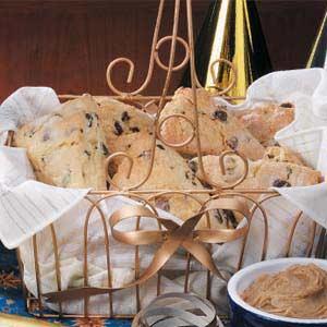Hazelnut Chip Scones Recipe