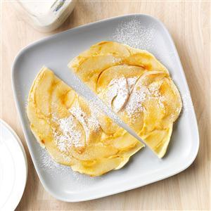 Upside-Down Pear Pancake Recipe