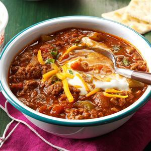 Hearty Slow Cooker Chili Recipe