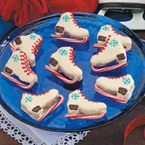 Ice Skate Brownies Recipe