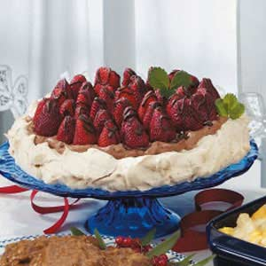 Strawberry Chocolate Meringue Recipe