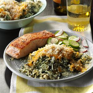 Slow Cooker Spinach & Rice Recipe